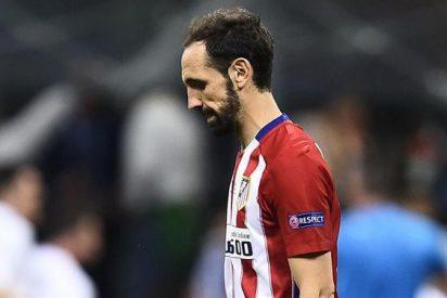 """La emotiva carta de Juanfran a los atléticos: """"Nuestro capitán levantará la Champions tarde o temprano"""""""