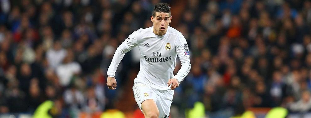 El Madrid contesta a las muchas ofertas que le llegan por James