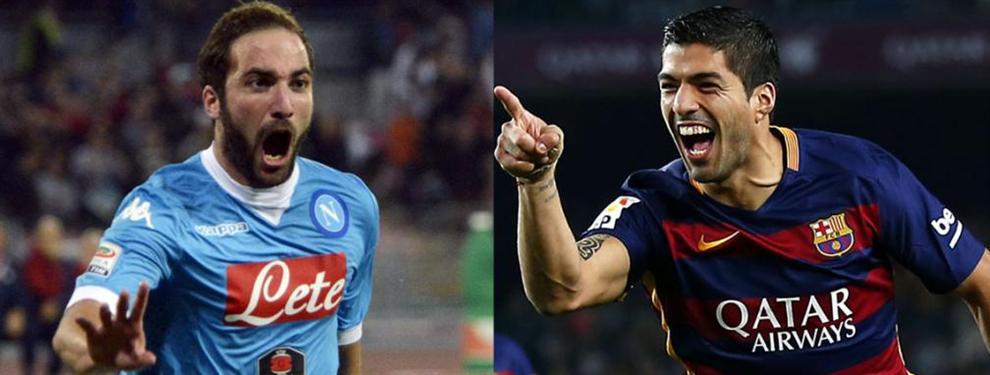 El mano a mano de Suárez con Higuaín en la lucha por el Botín de Oro