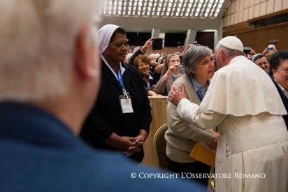 El Papa aboga por una mayor presencia de mujeres en la toma de decisiones en la Iglesia