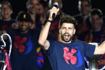 El recadito que envió Gerard Piqué en la celebración del Camp Nou