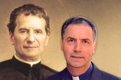 Homenaje a Mamá Margarita y Don Bosco en la iglesia de San Antón