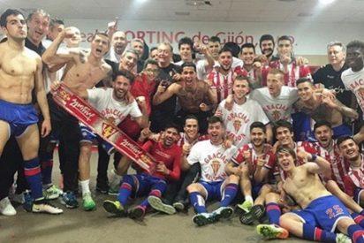 El Sporting logra salvarse y sigue en Primera y Getafe y Rayo bajan a Segunda