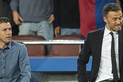 En el Barça buscan al chivato de la bronca de Luis Enrique en Sevilla