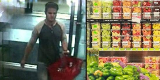 El tipejo que roció veneno para ratas en 15 supermercados a mala idea