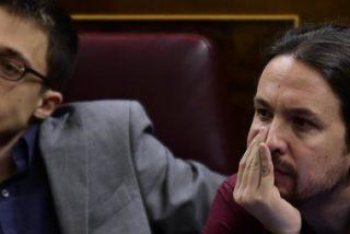 Pablo Iglesias margina a Errejón tras el acuerdo con IU y ni le dirige la palabra tras la fulminación de Pascual