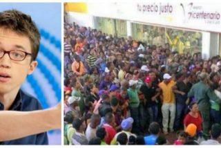 """La 'María Antonieta' podemita de Errejón: """"La gente hace colas en Venezuela porque tiene más dinero en los bolsillos"""""""