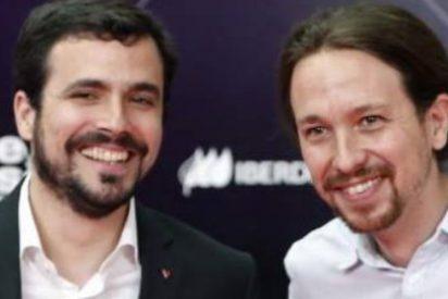 Garzón e Iglesias se enganchan a la 'liana electoral' de Frank Cuesta