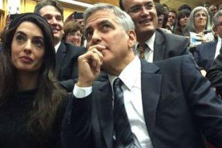 Clooney, Gere y Hayek participan en un congreso sobre educación en el Vaticano