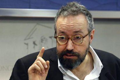 """Girauta responde a Inda y acusa al PP de haber amamantado a Podemos """"en las frías alcantarillas del Estado"""""""