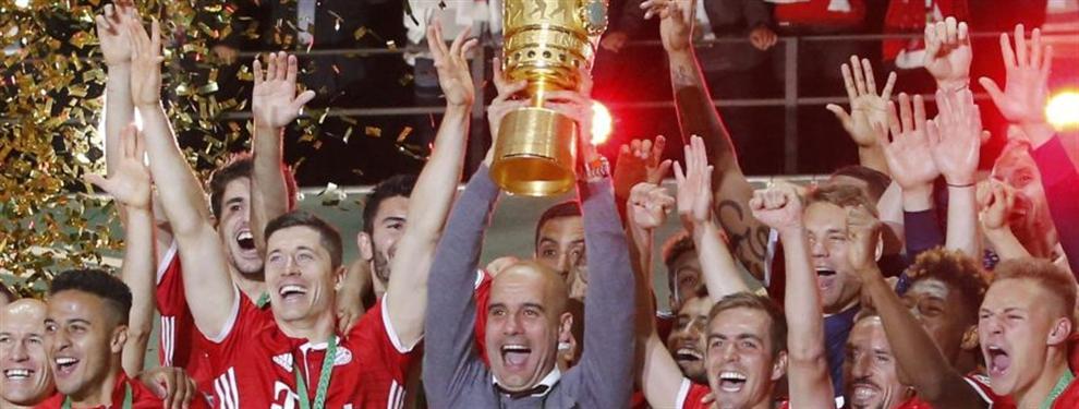Guardiola deja el Bayern como campeón
