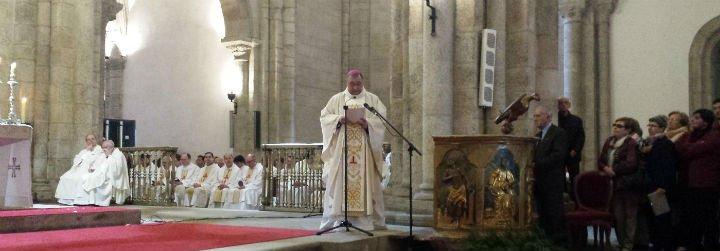 """Luis Ángel de las Heras ya es obispo de Mondoñedo-Ferrol: """"Hago mías vuestras preocupaciones y esperanzas"""""""