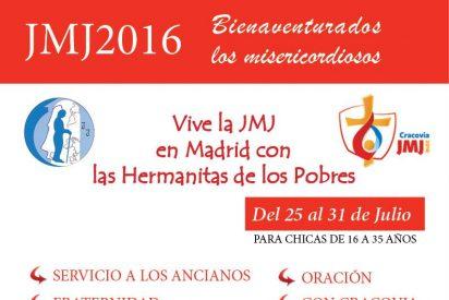 JMJ 2016, con las Hermanitas de los Pobres en Madrid
