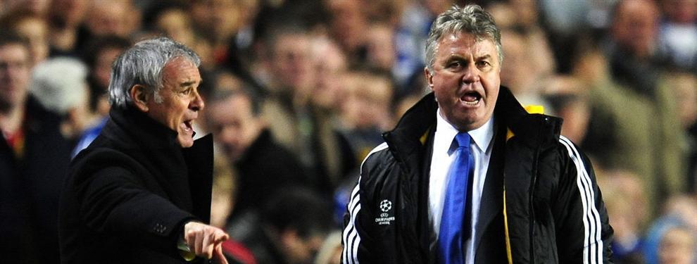 Hiddink desvela la llamada de Ranieri tras el 2-2 que hizo campeón al Leicester
