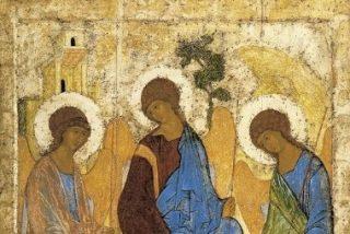 El icono de la Santísima Trinidad