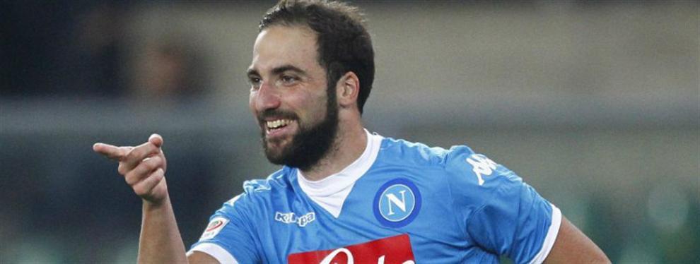 Iglesia de Nápoles homenajeó a Higuaín por entrar en la historia del Calcio
