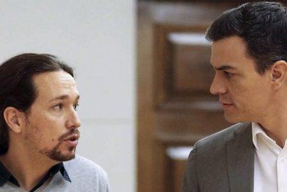 ¿Sabes que oscura desavenencia tiene Pablo Iglesias con Pedro Sánchez?