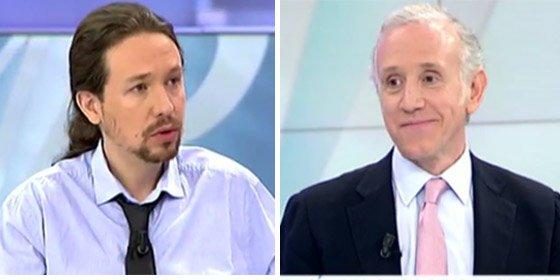 """Eduardo Inda: """"Podemos trata a los periodistas peor que la casta, ¡a palos!"""""""