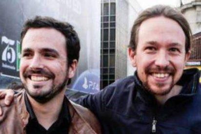 """Pablo Iglesias (PODEMOS) y Alberto Garzón (IU): """"Consideramos al PSOE de Pedro Sánchez un aliado"""""""