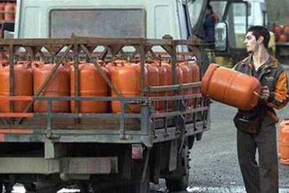 La bombona de butano bajará en toda España otro 5% el martes