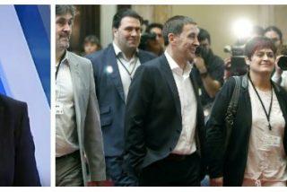 """Bieito Rubido y Antonio Jiménez alucinan con el recibimiento de estrella del rock en Cataluña a Otegi: """"Una parte de la sociedad española está enferma"""""""