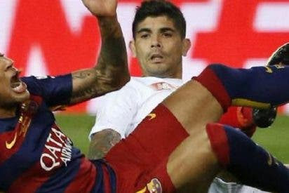 La amarga despedida de Ever Banega del Sevilla