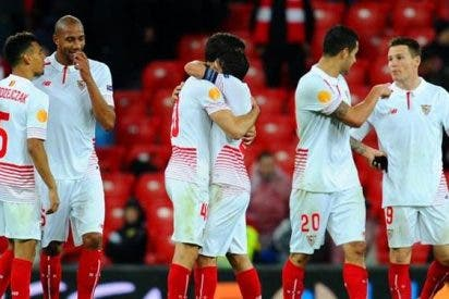 La bronca de un jugador del Sevilla antes de la final de Copa