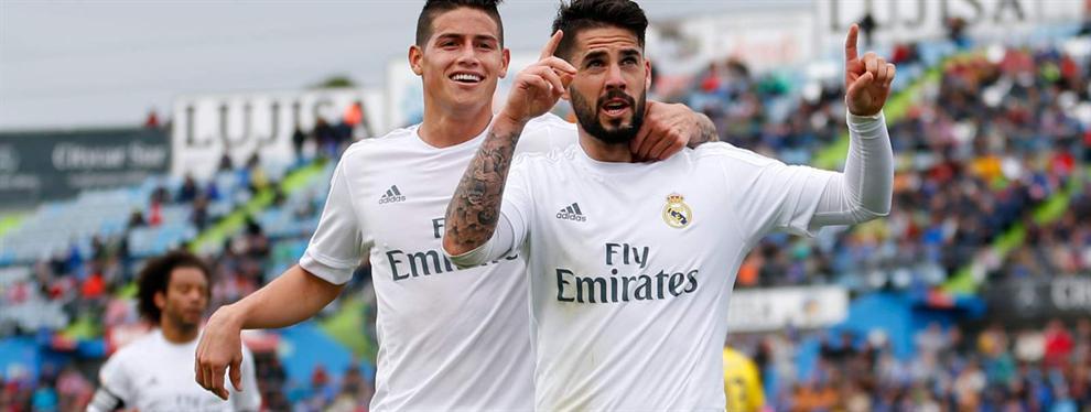 La decisión del Madrid con James deja muy tocado a Isco