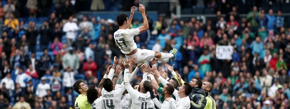 La despedida de Arbeloa del Bernabéu monta otra guerra civil en el madridismo