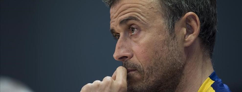 La faena del Luis Enrique al Sporting de Gijón