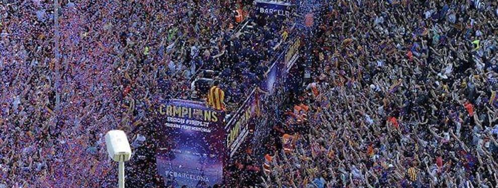 La fiesta que tiene preparada el Barça para el sábado si cae la Liga