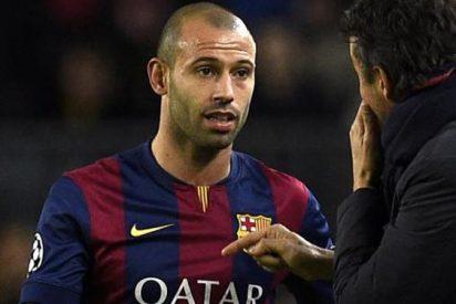 La insólita propuesta que ha recibido Javier Mascherano del Barça