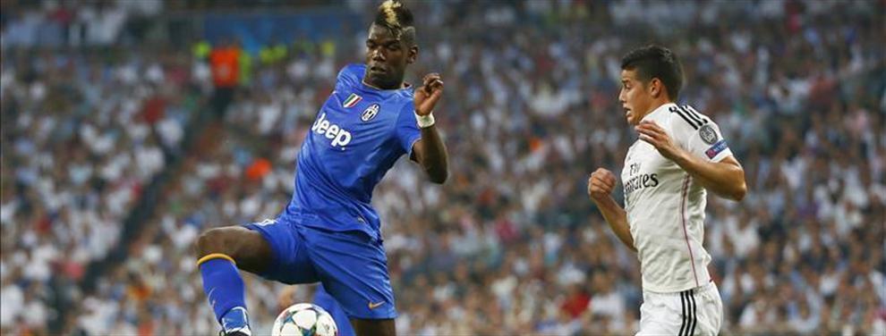La Juventus se carga el trueque Pogba-James Rodríguez con el Real Madrid