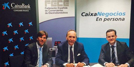 CaixaBank firma un convenio con la Federación Española de Comerciantes de Electrodomésticos para promover la financiación entre sus más de 6.000 asociados