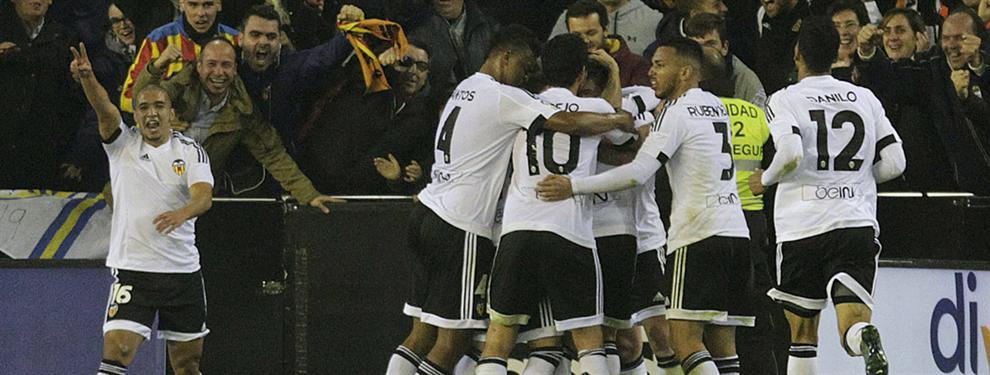Los cinco nombres propios que figuran como prioridades en la agenda del Valencia