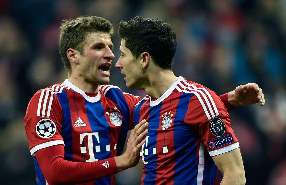 Los dos jugadores del Bayern que tienen ganas de que se vaya Pep Guardiola son Thomas Muller y Lewandowski