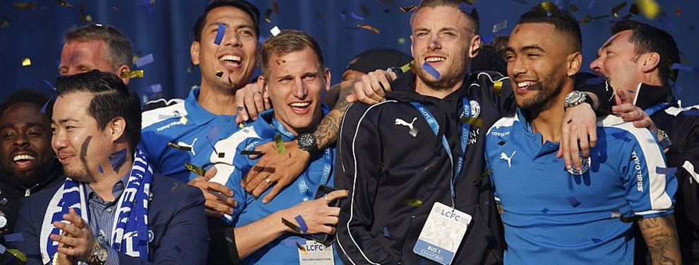 Los sueldos que van a demandar los jugadores del Leicester tras ganar la Premier