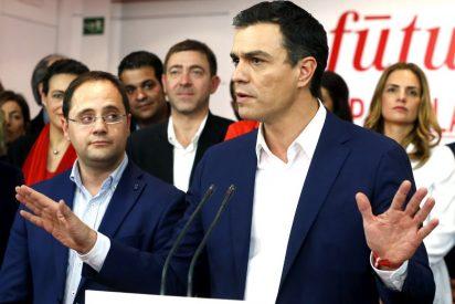 Todos los afanes del PSOE se orientan a desactivar el riesgo de sorpasso