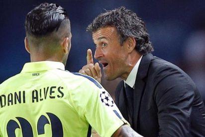 Luis Enrique está furioso por la fuga de Dani Alves