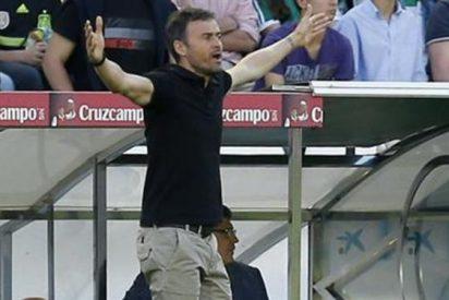 Luis Enrique sale escaldado de la bronca a la plantilla del Barça