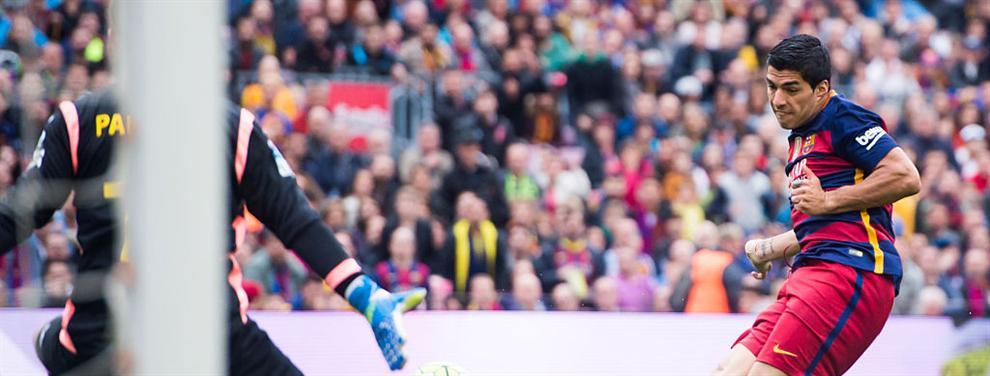 Luis Suárez se cebó con Pau López en su guerra con Cristiano Ronaldo