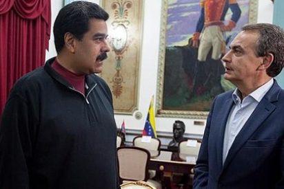 A esto ha ido ZP a Venezuela: a hacerse el simpático con Maduro