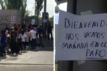Los trabajadores de 'El Mundo' se bajan de las protestas contra Unidad Editorial