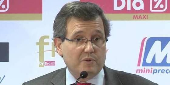 Ricardo Currás de Don Pablos: Dia gana 25,6 millones hasta marzo de 2016, un 13,6% menos