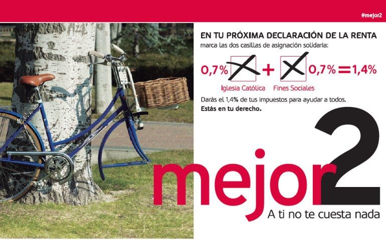 """La """"X Solidaria"""" financió 51 proyectos de Cáritas para personas sin hogar"""