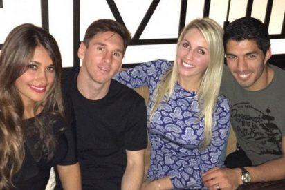 Las mujeres de Messi y Suárez vetan a Neymar, el otro crack del Barça