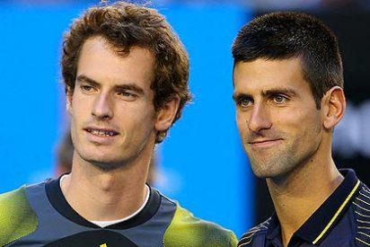 Andy Murray barre a Novak Djokovic en la final de Roma