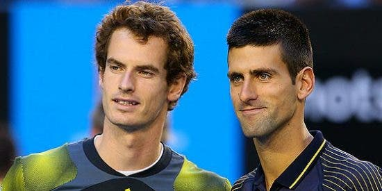 Andy Murray barre a Novak Djokovic en la final de Roma