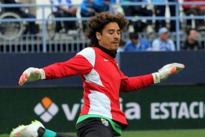 Ochoa no logró salvar al Málaga