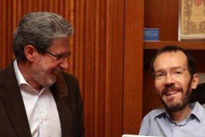 """Adolfo Barreda, que representa a IU en la 'fusión' con Podemos, llamó """"ratas"""" a los compañeros que se pasaron al partido de Pablo Iglesias"""
